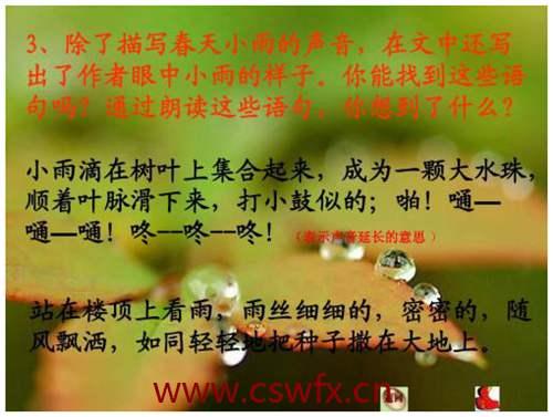 描写小雨最美的句子 句子大全 第1张