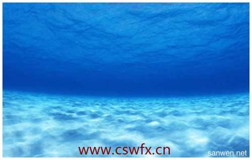 描写关于大海的句子