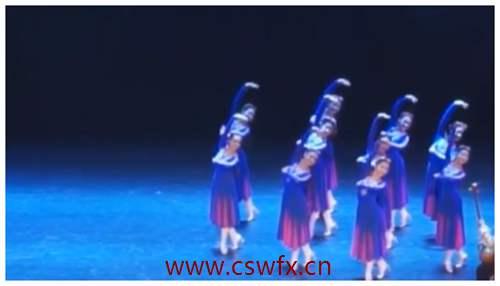 描写古典舞的美的句子