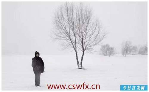 描写冬天天气很冷的优美句子