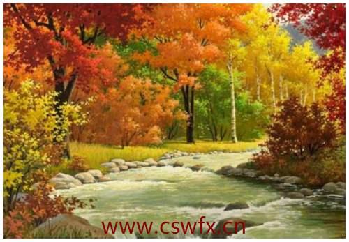 描写写秋天的精美句子