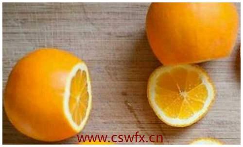 描写橙子的句子