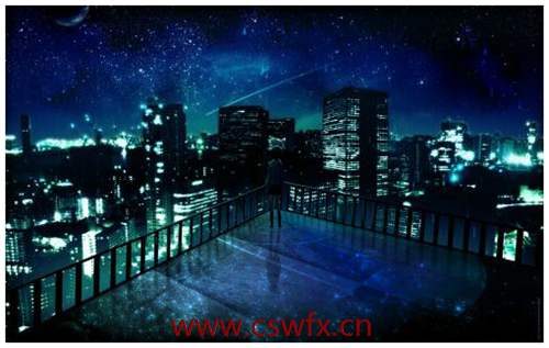 描写夜景唯美的句子