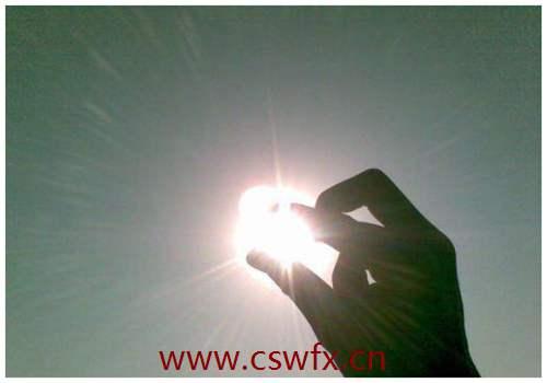 描写阳光的正能量句子