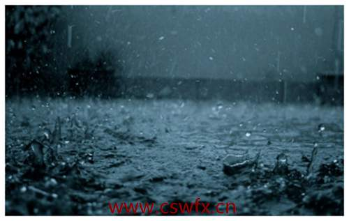 描写雨天下雨的句子