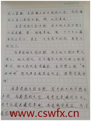 描写同学的认真的句子
