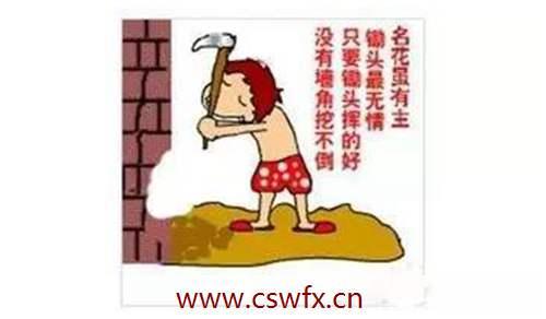 描写挖墙脚的句子