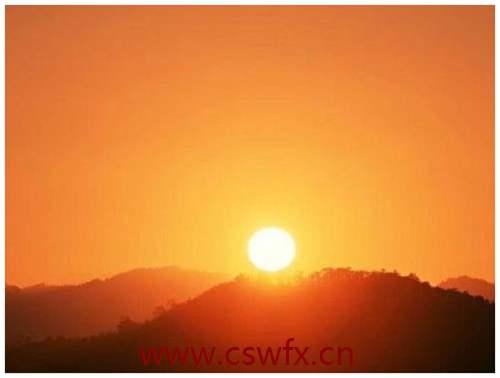 描写太阳升起优美的句子