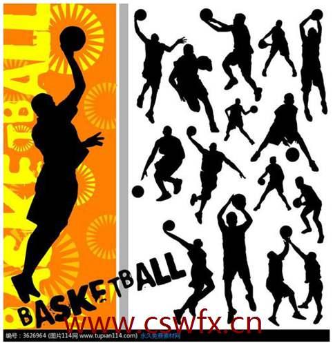 描写打篮球动作的句子