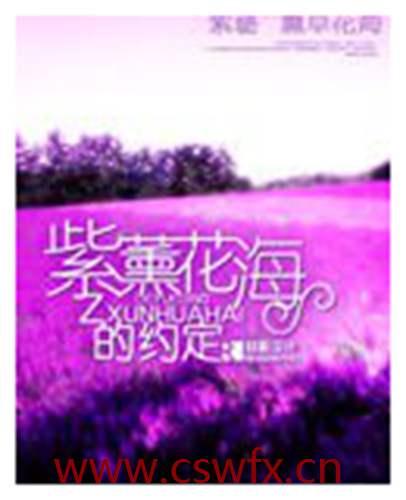 描写紫色的花海句子