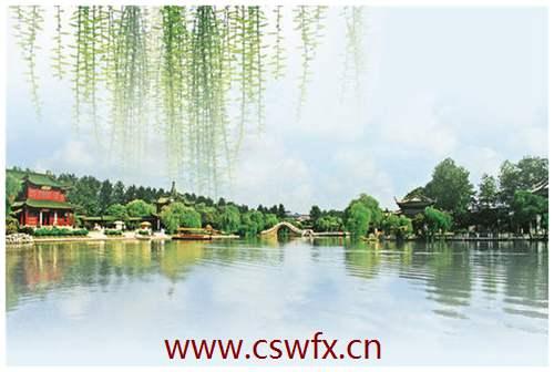 描写杭州风景的句子