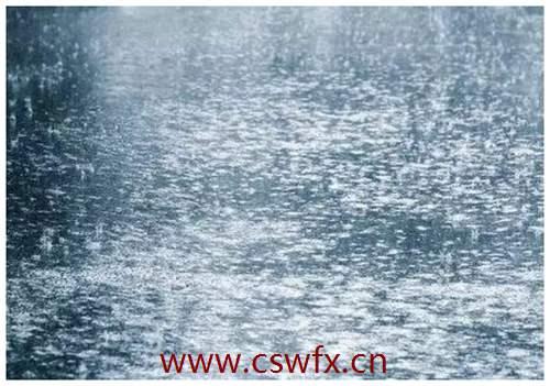 描写下雨的句子