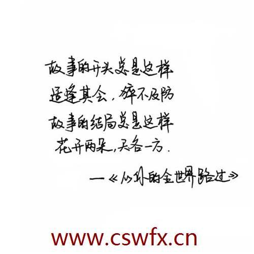 描写最美的自己的句子