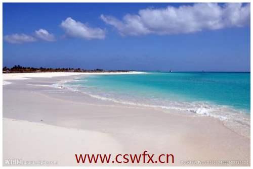 描写沙滩唯美的句子