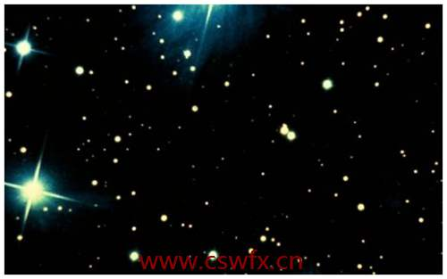 描写星星多的句子