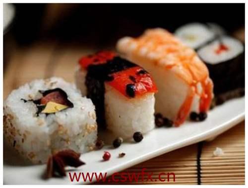 描写寿司的唯美句子