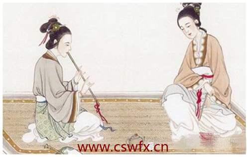 描写古代女子服饰外貌的句子
