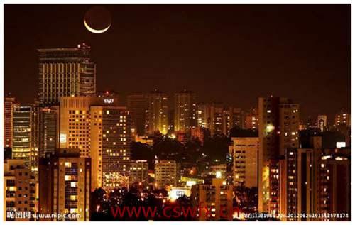 描写城市夜景的文艺句子