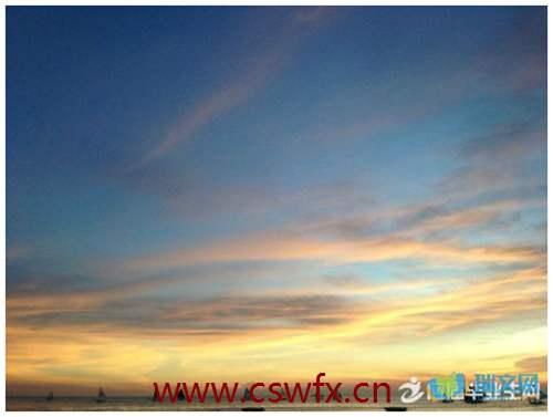 描写天空和云的优美句子