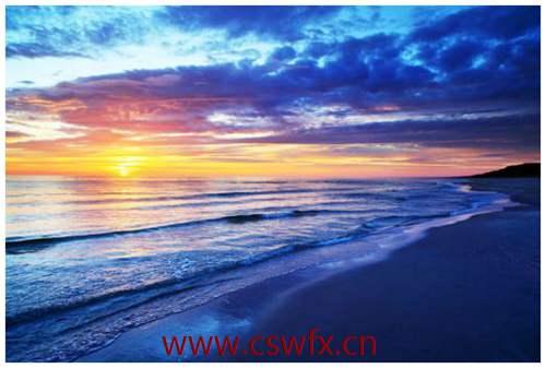 描写日出和大海的句子 句子大全 第1张