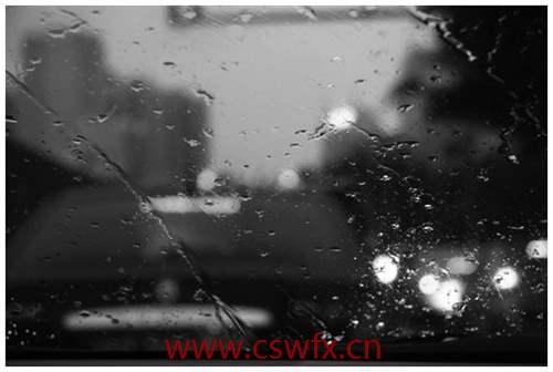 描写夜晚雨的句子