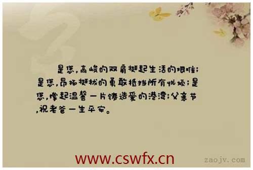 描写对父母爱的优美句子