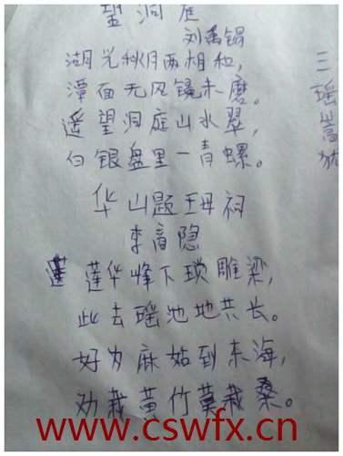描写华山的短句子