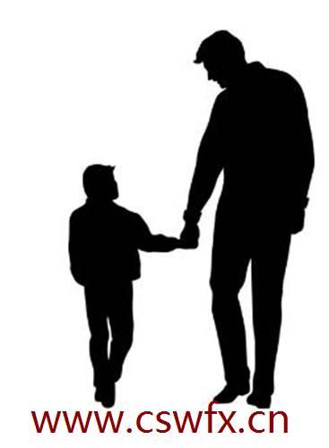 描写父子情深的句子