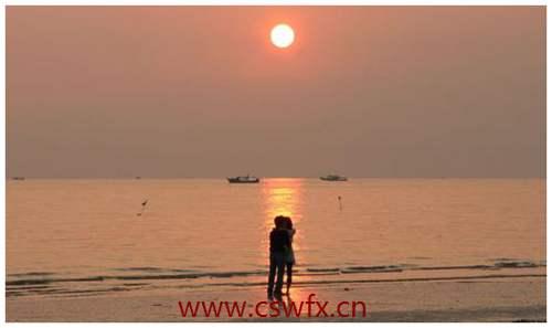 描写海边夕阳的好句子 句子大全 第2张