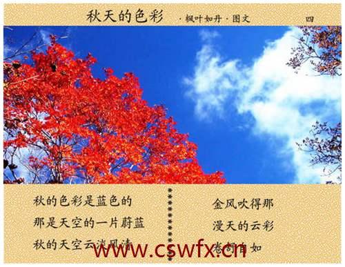描写秋天的句子 句子大全 第2张