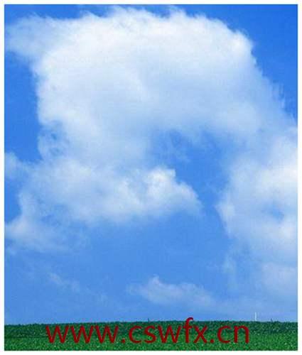 描写青山蓝天白云的句子 句子大全 第2张