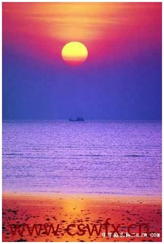 描写日出和大海的句子 句子大全 第2张