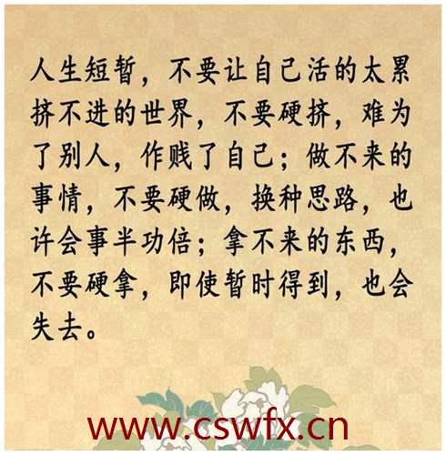 描写人心里的经典句子 句子大全 第2张