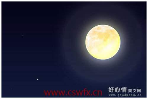 描写月亮的夜晚的句子 句子大全 第2张