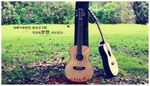 描写吉他唯美句子 句子大全 第3张