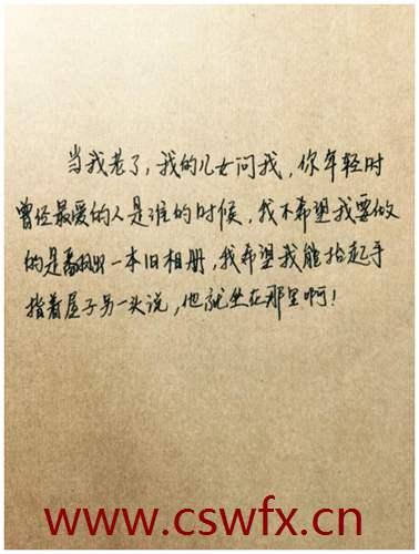 描写情书的优美的句子 句子大全 第3张