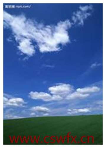描写青山蓝天白云的句子 句子大全 第3张
